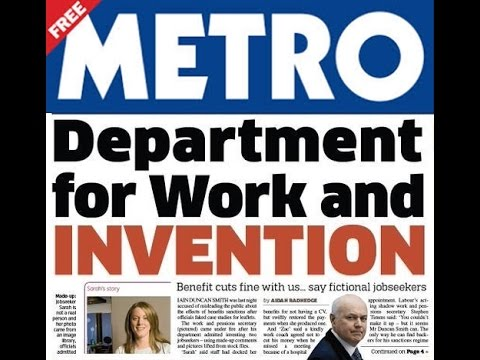 Fake DWP stories - there's nothing funny about benefit sanction suicides