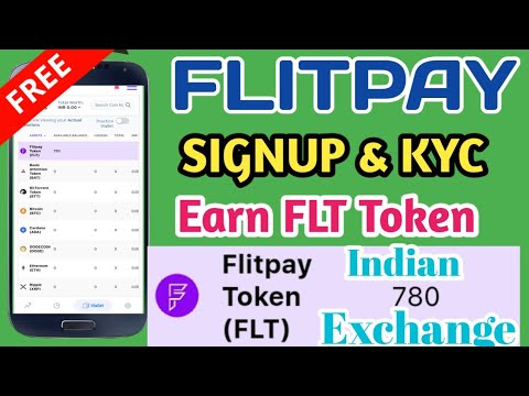 Flitpay Crypto Exchange   signup   KYC   Earn FLT Token   Tamil
