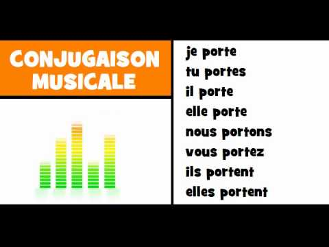 french for children musical conjugation soul music