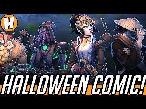 Overwatch Halloween Comic - The Return of Junkenstein! (Voiced + Story Analysis) | Hamme