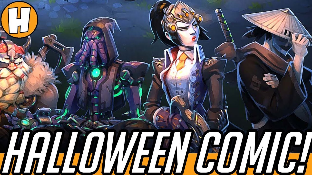 Overwatch Halloween Comic - The Return of Junkenstein! (Voiced + ...