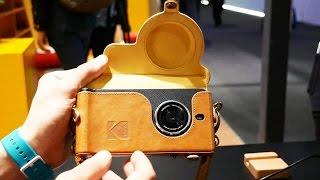 Обзор олдскульного фотосмартфона Kodak Ektra