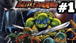 TMNT 2: Battle Nexus | 100% Walkthrough | Shredders Tower! (Part 1)