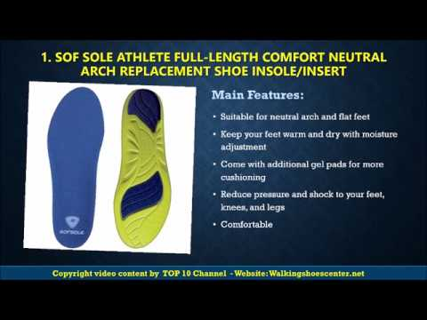 89ae82252f Best Insole Standing All Day 2018 || Best Insole for Shoes Reviews. TOP 10  CHANNEL