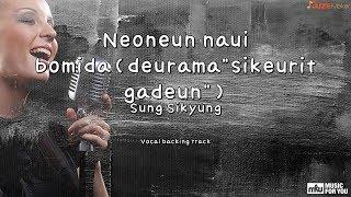 """Neoneun naui bomida(deurama""""sikeurit gadeun"""")-Sung Sikyung(Instrumental & Lyrics)"""