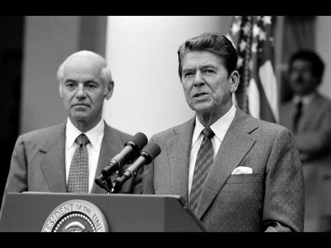 Ronald Reagan on Unions and the Federal Budget (1981)