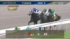 Gulfstream Park July 12, 2019 Race 4