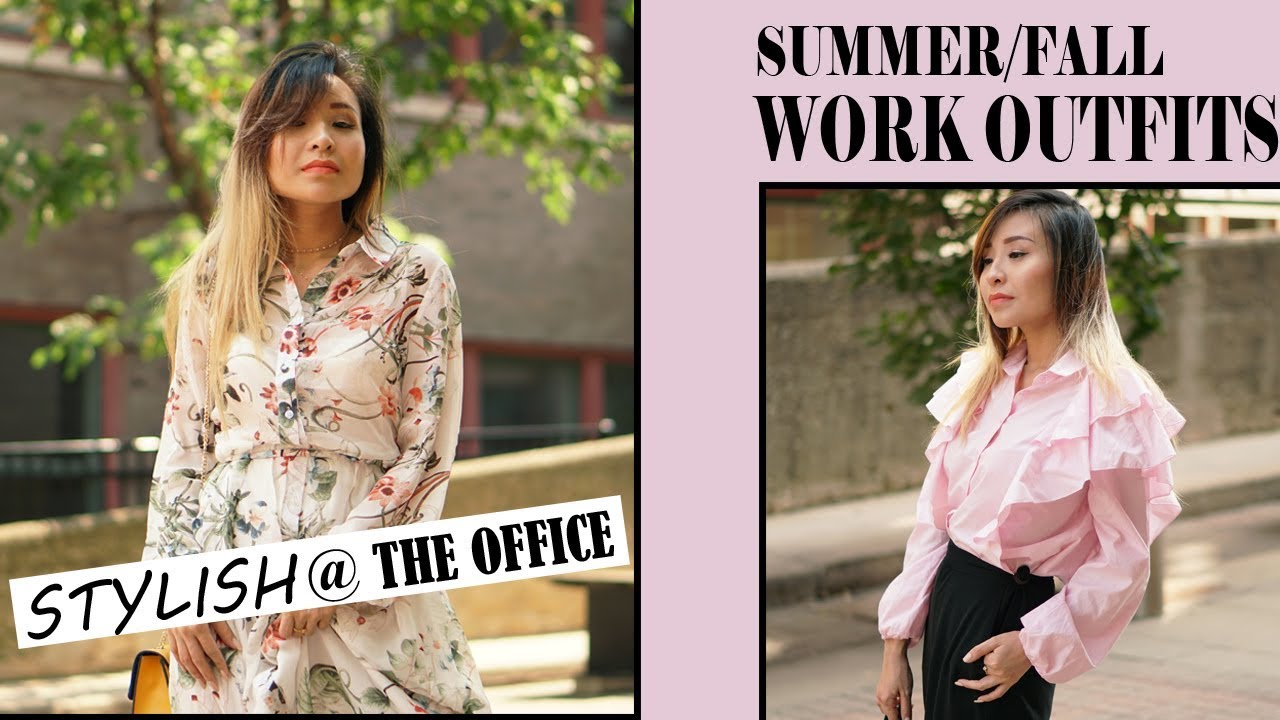 [VIDEO] - WHAT TO WEAR TO WORK| SUMMER & FALL OUTFIT IDEAS FOR THE OFFICE 6