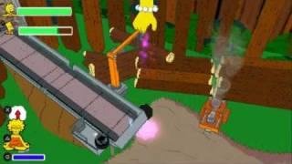 Видео обзор игры The Simpsons Game для PSP