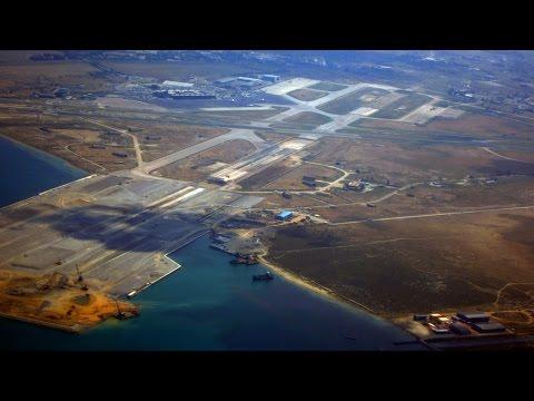 Thessaloniki airport SKG-aeroporto salonicco (flughafen thessaloniki)-Rome (roma) airport Ciampino.