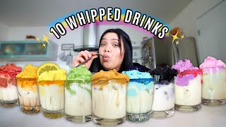 10 Whipped Dalgona Drinks you Need to try NOW