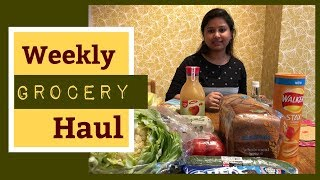 INDIAN GROCERY HAUL- WEEKLY GROCERY SHOPPING || INDIAN GROCERIES IN UK || BUDGET GROCERY HAUL