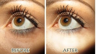 How To Cover Very Dark Under Eye Circles With Drugstore Makeup Products