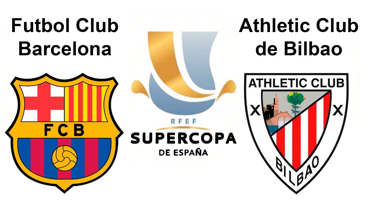 SuperCopa de España - Futbol Club Barcelona vs Athletic ...