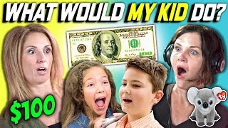 can parents guess what their kid does with 100 dollars? ep 3