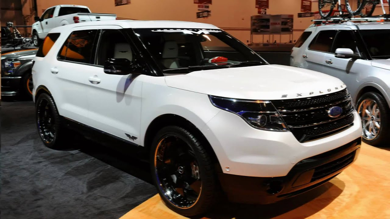 Custom 2011 Ford Explorers At Sema Youtube