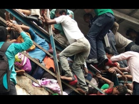 22 Dead in Mumbai Stampede - LIVE COVERAGE