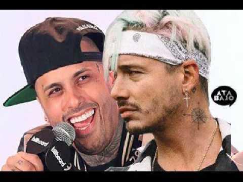 """Nicky Jam y J Balvin se burlan """"despacito"""" de Justin Bieber"""