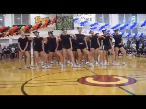 Cupertino Senior Girls Homecoming Dance Class of 2017