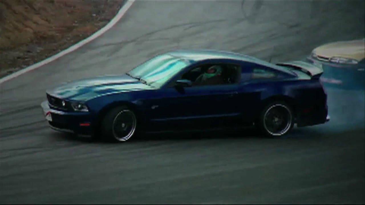 2010 mustang in japan drifting with vaughn gittin jr