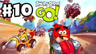 Angry Birds Go! Gameplay Walkthrough Part 10 - King Pig! Rocky Road (iOS, Android)