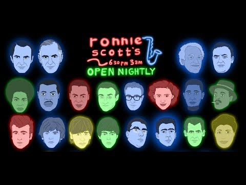 Ronnie Scott's At 60: 1959- 2019 - 60th Anniversary Animation