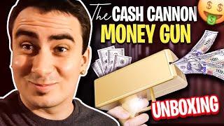 The Cash Cannon Money Gun Unboxing