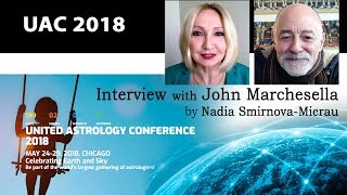 Surviving Saturn Transits - interview with UAC speaker John Marchesella