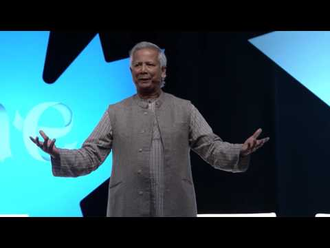 "Prof. Muhammad Yunus: Be ""job creators"" not ""job seekers"""