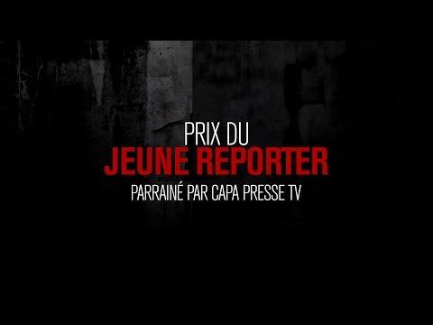 Prix du jeune Reporter, parrainé par CAPA Presse TV