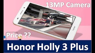 Honor Holly 3 Plus Price in India, Reviews and More