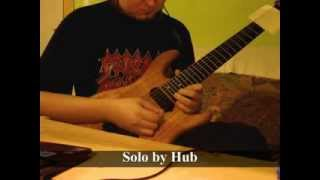 Megadeth - 99 Ways To Die solo cover by Hub
