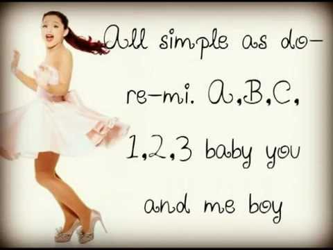 Ariana Grande - ABC - Lyrics [Full Song]