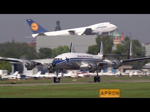 Super Constellation on Airliner Classics 2016 / Speyer (EDRY) HD