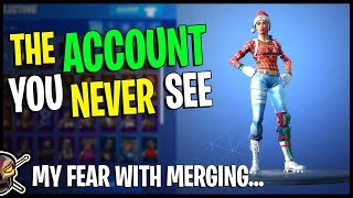 PIZO'S Epic Account You NEVER SEE - My Fear With ACCOUNT MERGING in Fortnite!