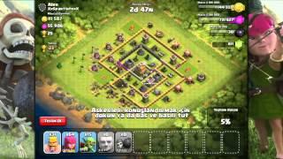 Clash Of Clans Oynuyoruz #29: Sınıra Doğru!