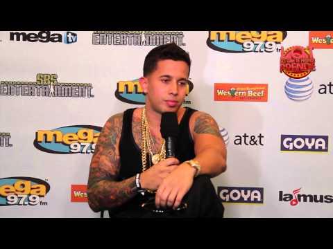 De La Ghetto entrevista Mega Mezcla 2014