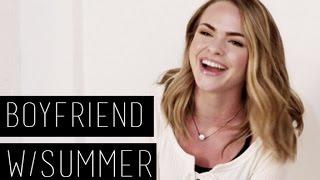 Summer Mckeen talks about her Boyfriend   LACE Magazine