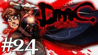 How Dante Got His Groove Back - DMC - Devil May Cry Gameplay / Walkthrough w/ SSoHPKC Part 24 - The Skin Sack