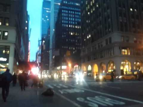 Walk from Penn Station to Work at New York Sports Club in Times Square....