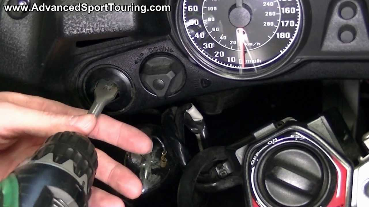 Kawasaki Gtr 1000 Wiring Diagram Trusted Concours Dashboard Power Outlet Ignition Activated Video