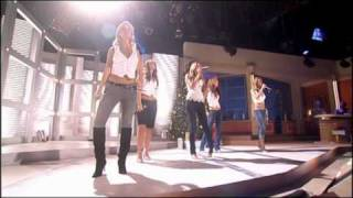 girls aloud see the day live at des and mel 16th December 2005