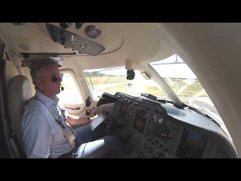 Takeoff from Centennial Airport Denver in a private jet