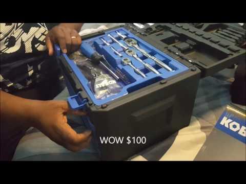227 Piece Kobalt Tool Set