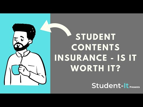 Student Contents Insurance - Is it Worth it?
