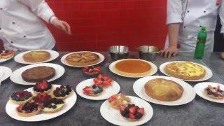 Урок по тарталеткам и тартам от Юлии Баковой- шеф кондитера программы Culinary Arts Chef Education