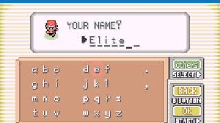 Pokemon Fire Red - Pokemon FireRed-A Journey For Elite Begins..? - User video