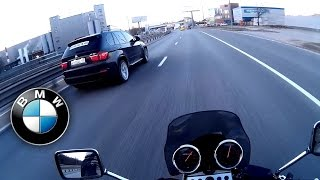 видео: 400cc против BMW X5