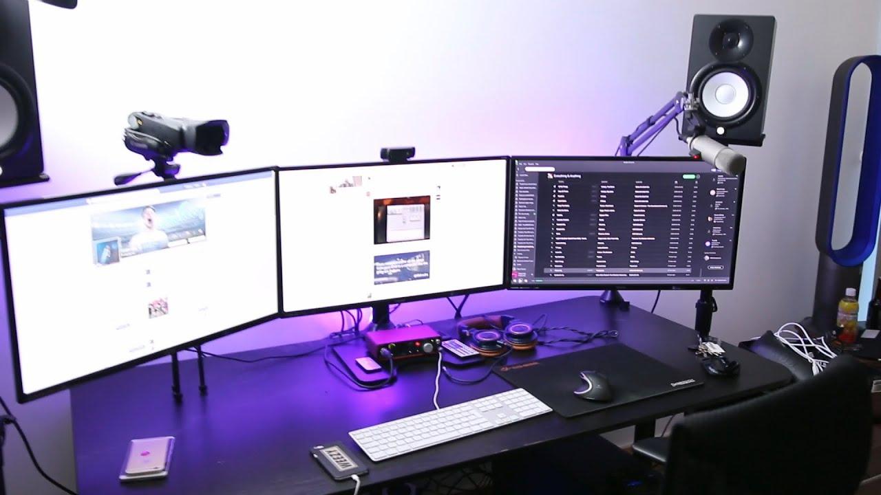 My Epic Gaming Set Up Youtube