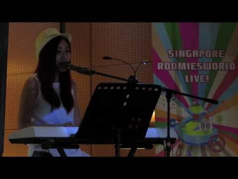 林思彤 @ Roomies World @ Scape Bandstand - 向日葵 (16.04.2016)